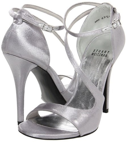 Stuart Weitzman Bridal & Evening Collection - Vixen (Sand Star Satin) - Footwear