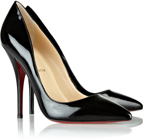 Christian Louboutin Batignolles 120 patent-leather pumps