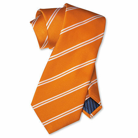 Orange Ties for Wedding