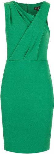 Sleeveless Texture Bodycon Dress