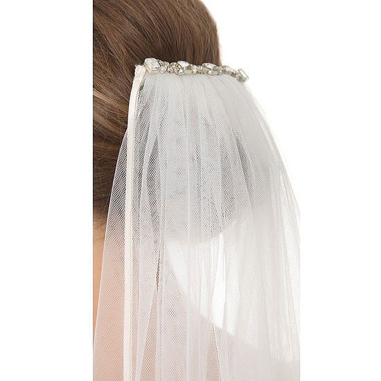Veil, approx $759, Jenny Packham at Shopbop