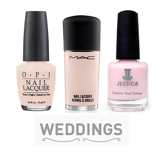 10 bridal pink nail polishes to wear on your wedding day With wedding dress nail polish
