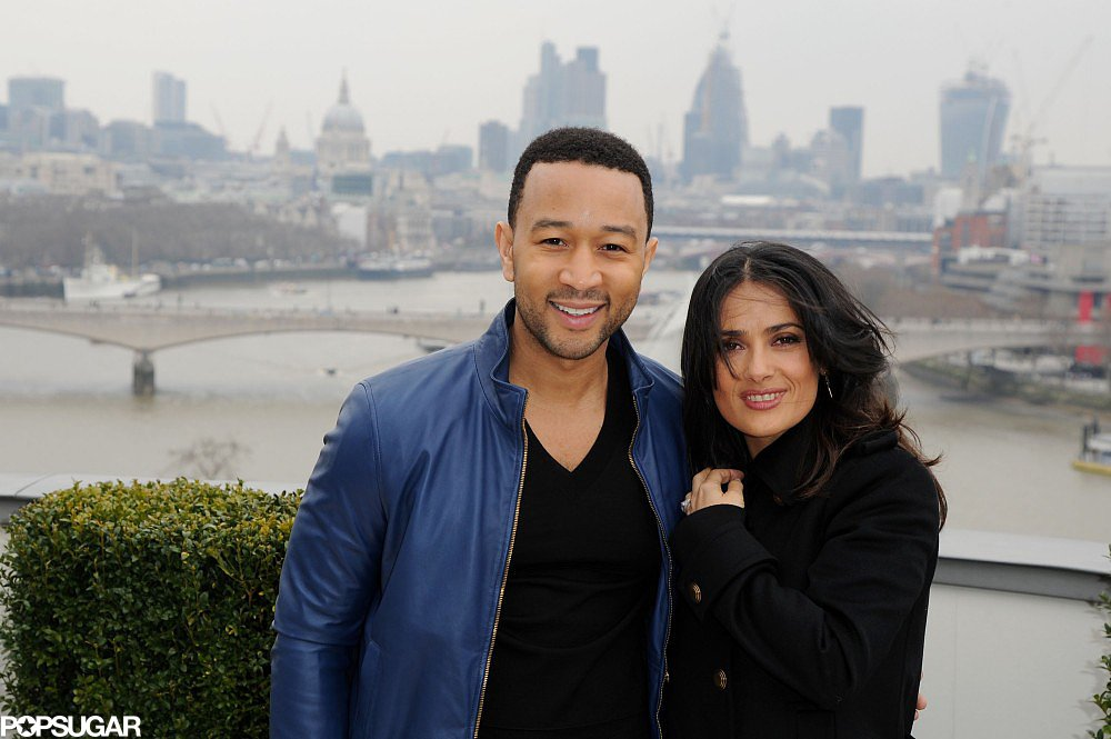 Salma Hayek and John Legend Team Up For Big Beyoncé News