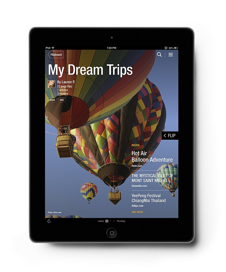 Flipboard's Make-Your-Own-Magazine Feature