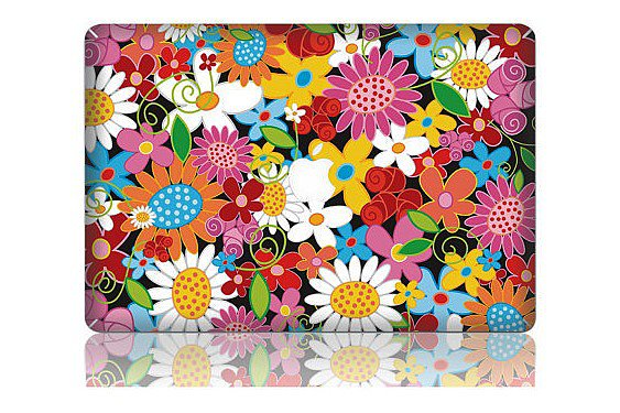 Floral Laptop Decal