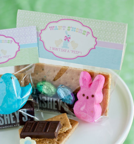 Peeps S'Mores Favor Toppers