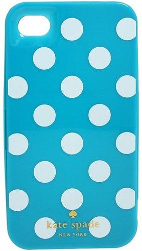 Kate Spade New York - Le Pavillion Case for iPhone 4 (Turquoise/White) - Electronics