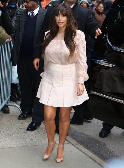 Kim Kardashian Shows Her Bump in Three Sexy Styles