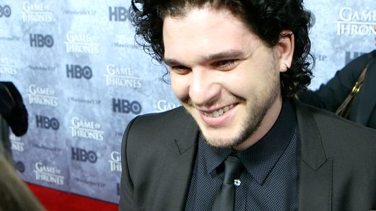 Video: Game of Thrones' Kit Harington Reveals His Man Crush & Talks Love Scenes