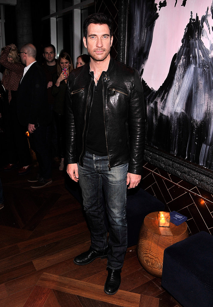 Dylan McDermott attended the premiere afterparty.