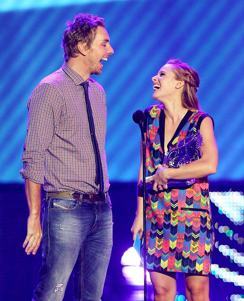 Dax Shepard and Kristen Bell cracked up at the 2012 Do Something Awards.