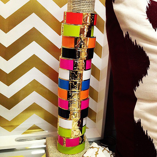 Stacking bangles gets a whole new meaning at C. Wonder.
