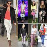 7 Day, 7 Ways: Give Your Printed Pants the Spring Treatment