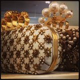 Dream clutches from Alexander McQueen.
