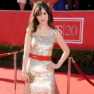 Zooey Deschanel Workout From Bar Method