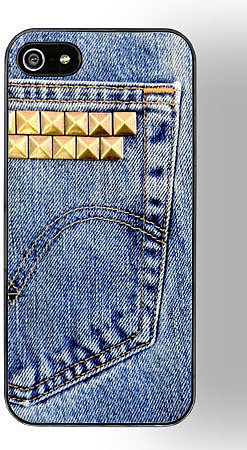 DENIM iphone 5 case by ZERO GRAVITY