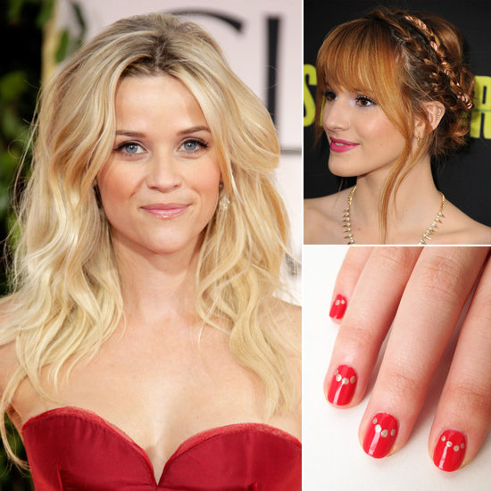 Your Top Pins of the Week: Gorgeous Hair and Easy Nail Art