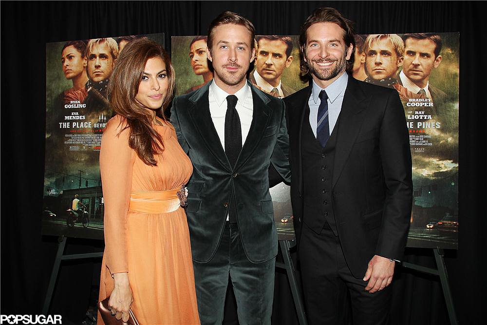 Eva Mendes, Ryan Gosling, and Bradley Cooper attended the screening in NYC.