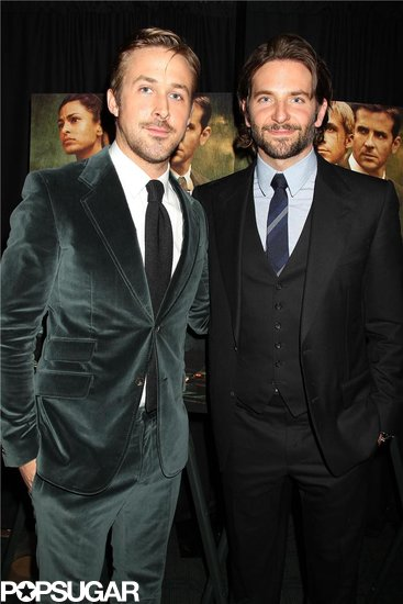 Bradley Cooper and Ryan Gosling posed together.