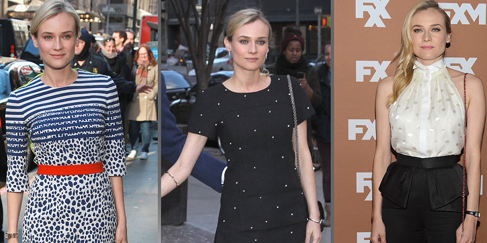 See Diane Kruger's Spot-On Style While Promoting The Host