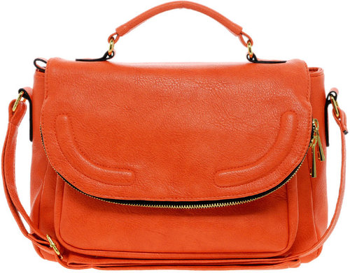 ASOS Satchel Bag With Zip Flap