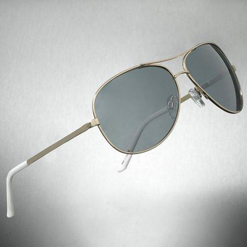 Dark Aviator Sunglasses