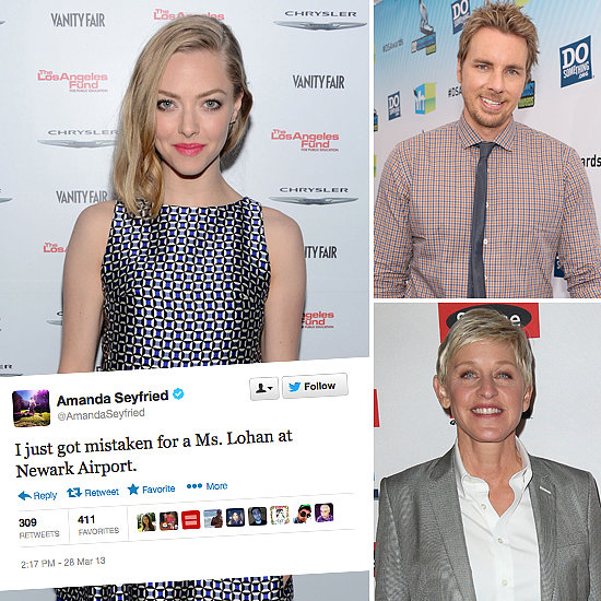 Tweets of the Week: Amanda Seyfried, Dax Shepard, Ellen & More!