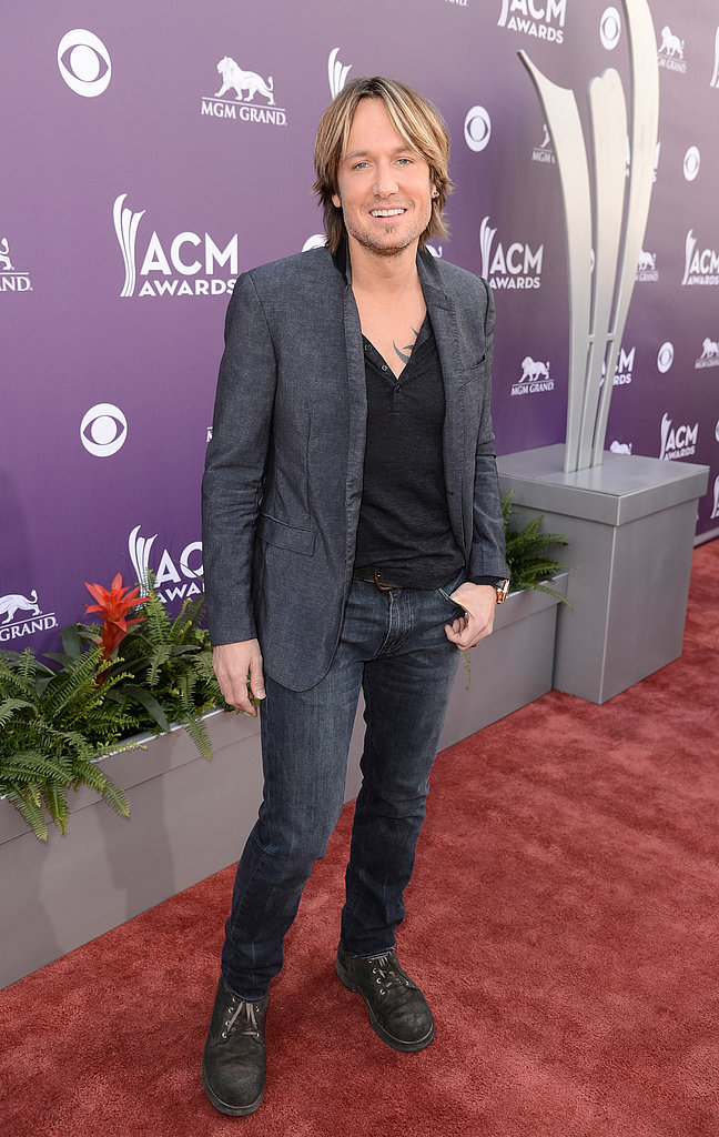 Keith Urban at the ACM Awards.