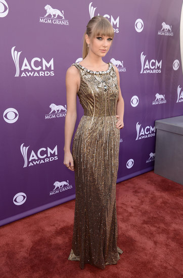 Taylor Swift at the ACM Awards.