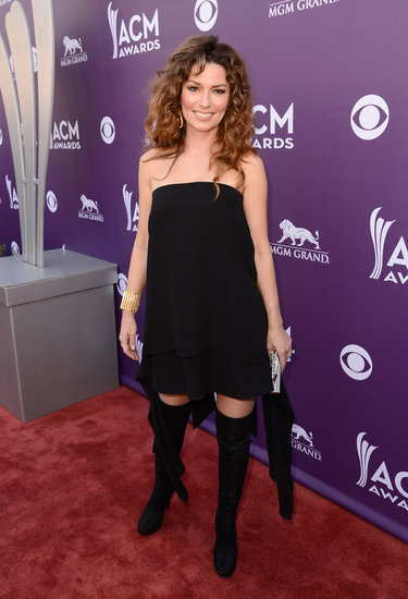 Shania Twain at the ACM Awards.