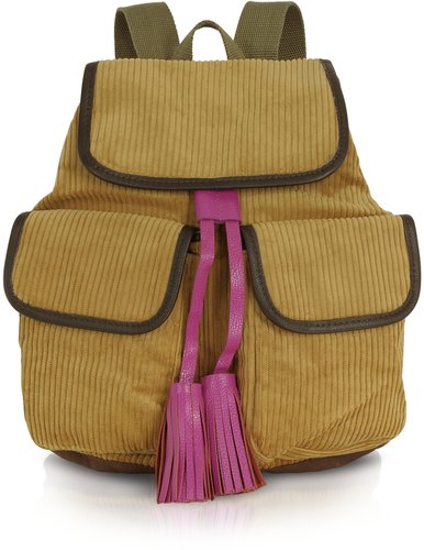 Bensimon Collection Manhattan Line - Corduroy Backpack