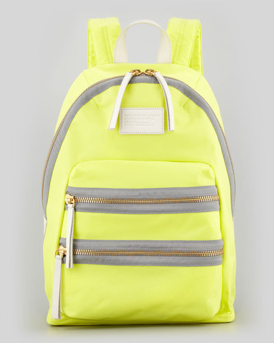 MARC by Marc Jacobs Domo Arigato Packrat Backpack, Yellow