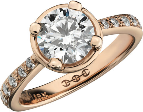 HOORSENBUHS for Forevermark Diamond & Yellow Gold Regis Ring