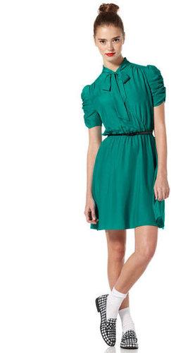 Marian Tie Front Dress