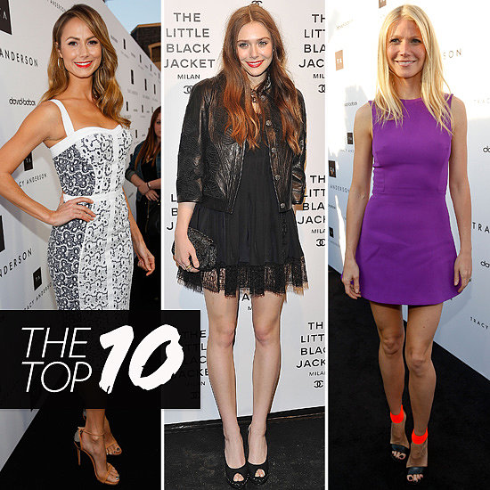 Top Ten Best Dressed of the Week: Gwyneth, Elizabeth, Stacy & More!