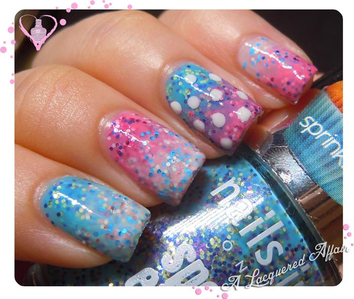 Nails Inc. Sprinkles nail art