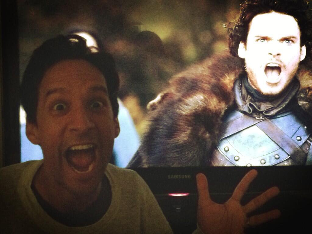 Community's Danny Pudi shared his excitement for the return of Game on Thrones. Source: Twitter user dannypudi