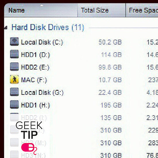 Figure out what programs are taking up the most hard drive space.  Source: Instagram user 2pn_