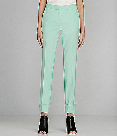 Vince Camuto Cuffed Cropped Pants