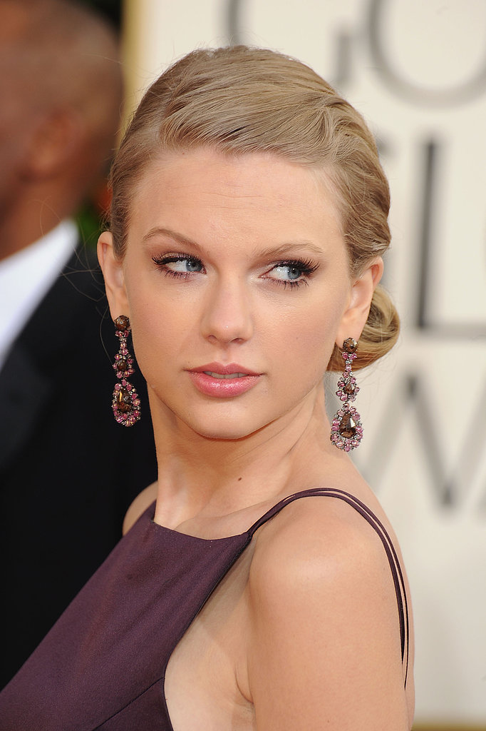 Taylor Swift's modern take on Marcel waves is great for the bride looking for a vintage twist.