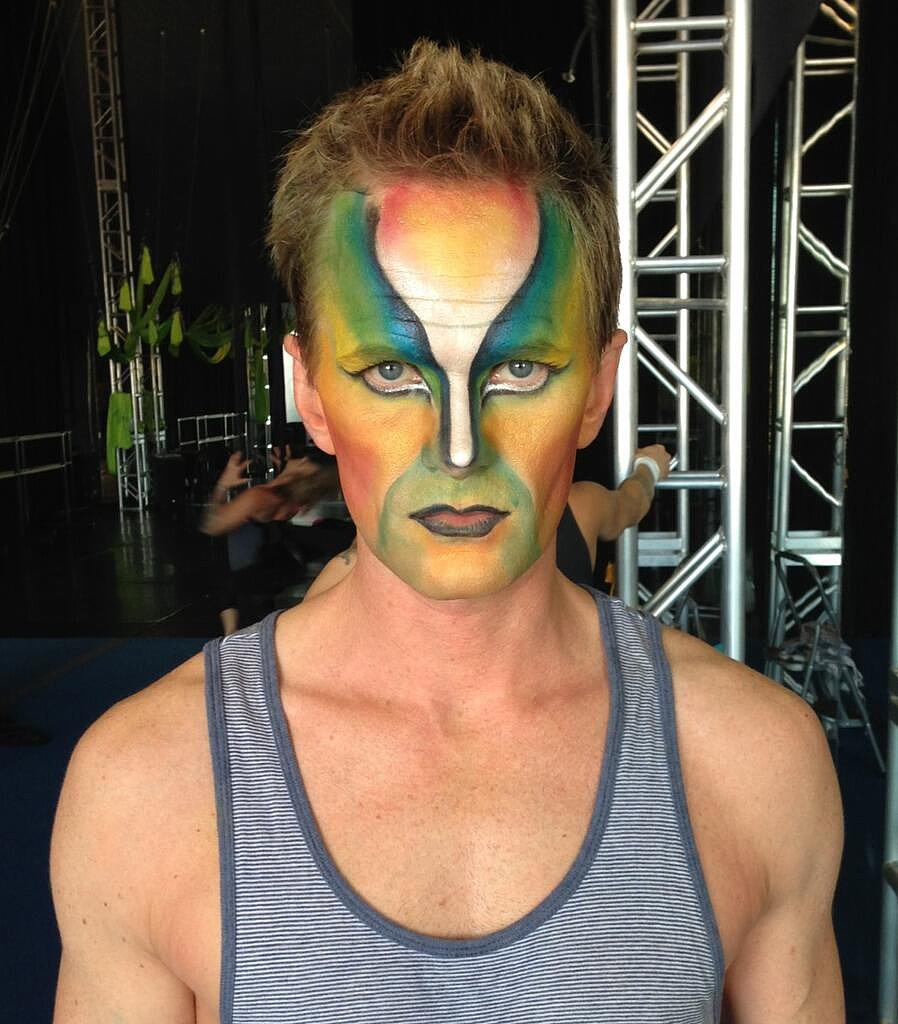 Neil Patrick Harris went to Las Vegas for some Cirque du Soleil action. Source: Twitter user ActuallyNPH