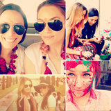 Lauren Conrad Shares Snaps of Her Indian Vacation
