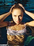 Hayden Panettiere wore a bikini for Glamour's May issue.