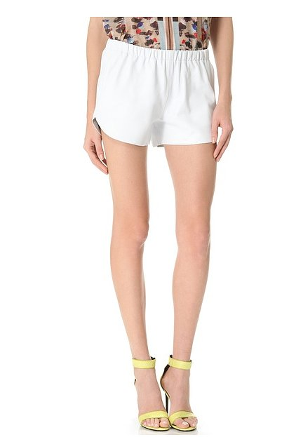 Channel the Spring leather trend when you slip into these easy Clover Canyon Leather Shorts ($193-$220, originally $275).