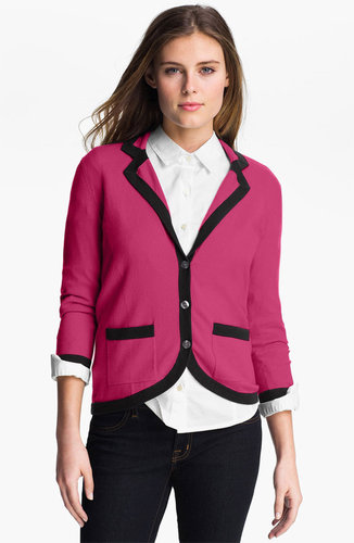 Halogen Tipped Sweater Jacket