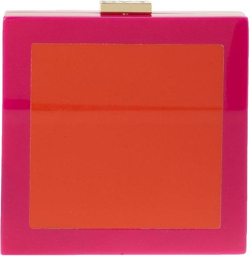 Mattie Colorblock Clutch