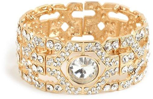 Gold Aragon Cuff
