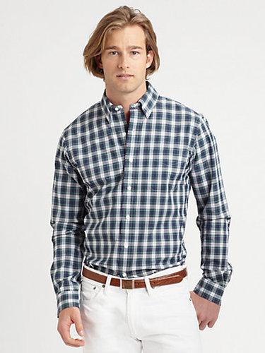 Polo Ralph Lauren Custom-Fit Tartan Sportshirt