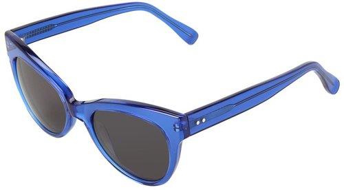 KAMALIKULTURE - Square Cat Eye Sunglasses (Cobalt) - Eyewear