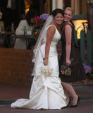 Katherine Heigl stood by her sister Meg Heigl's side as a bridesmaid at her October 2007 nuptials in Santa Monica.